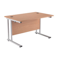 Fr First Rectangular Cant Desk 1200 Oak