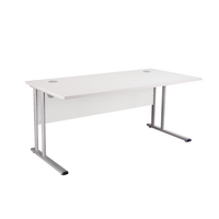 Fr First Rect Cant Desk 1200 White