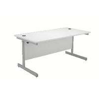 Jemini White 1200mm Cantilever Rect Desk