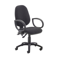 Fr First Hb Oper Chair Charcoal Fix Arm