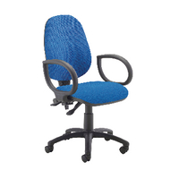 Fr First Hb Operator Chair Blue Fix Arm