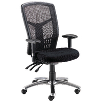 FF Avior 24Hour Hb Mesh Op Chair Blk