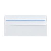 Q-Connect White DL Slf-Seal Envlp Pk1000