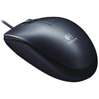 Logitech Black M100 Mouse 910-001602