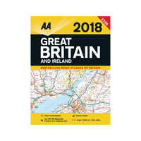 AA Road Atlas Great Britain/Ireland 2016