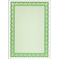 Decadry Emerald Green A4 Cert Paper Pk25