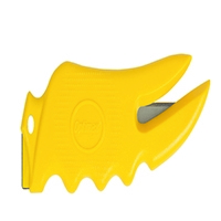 Cruze Yellow Safety Tape/Packing Cutter