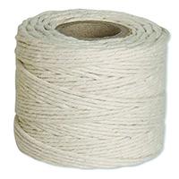 Flexocare White Cotton Twine 250gm Pk6