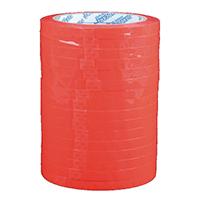 Flexocare Red Vinyl Tape 9mm X66m Pk16