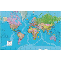 Map Marketing Giant World Political Map