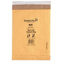 MailLite Postal H/5 Gold Padded Bag Pk50