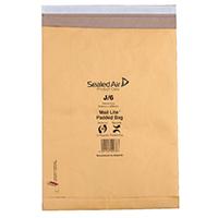 MailLite Postal J/6 Gold Padded Bag Pk50