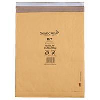 MailLite Postal K/7 Gold Padded Bag Pk50
