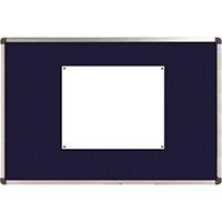 Nobo Elipse Blue 1200x900mm Noticeboard