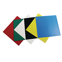 Nobo Magnetic Squares Assorted Pk6