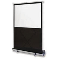 Nobo Grey Floor-standing Portable Screen
