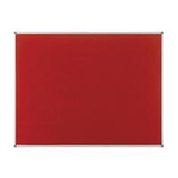 Nobo Elipse Red 900x600mm Noticeboard
