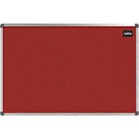 Nobo Elipse Red 1200x900mm Noticeboard