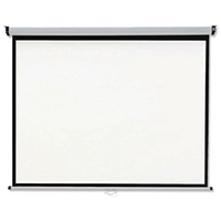 Nobo Grey/Blue 2400x1813mm Wall Screen