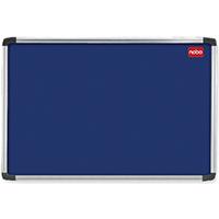 Nobo Blue 900x600 Alu Frame Noticeboard