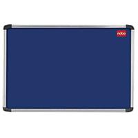 Nobo Blue 2400x1200 Al/Frame Noticeboard