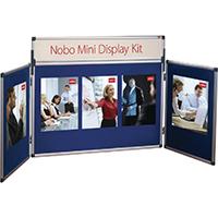 Nobo Blue Mini Desktop Display Kit