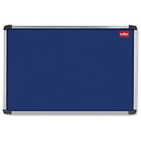 Nobo Blue 1500x1000 Al/Frame Noticeboard