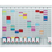 Nobo 12 T-Card Panel Planning Kit 38864