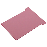 Nobo T-Card Size 3 Pink Pk100