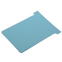 Nobo T-Card Size 3 Light Blue Pk100