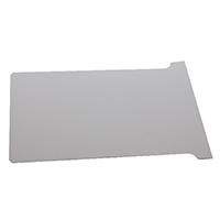 Nobo T-Card Size 4 White Pk100