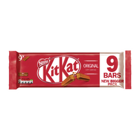 Nestle KitKat Milk Two Finger Pk9