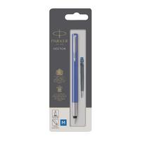 Parker Vector Blue Fountain Pen Pk6