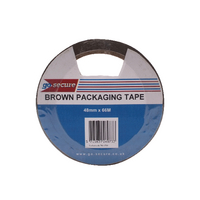 GoSecure Packaging Tape 50mmx66m Brwn P6