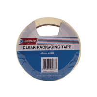 GoSecure Packaging Tape 50mmx66m Clr Pk6