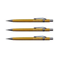 Pentel Yllw Barrel P200 0.9 Pencil Pk12