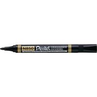 Pentel N850 Bullet Marker Black Pk12