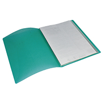 Pentel Green/Clear A4 Display Book 30Pkt