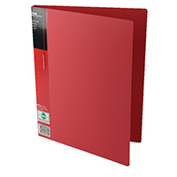 Pentel Red A4 Wing Display Book 20 Pkt