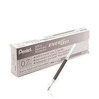 Pentel EnerGel Black Refill 0.7mm LR7-A