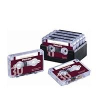 Philips Dictation 30min Cassette Pk10