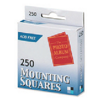 Photo Album Mounting Squares MS250