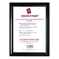 PAC Promote It A4 Black Frame