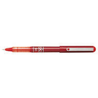 Pilot V-Ball Red 0.3mm Rollerball Pk12