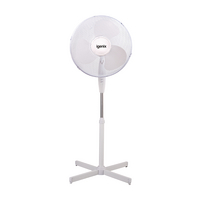 Igenix 16in Pedestal Fan White