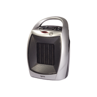 1.8kW PTC Ceramic Fan Heater Silver