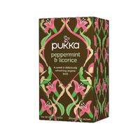Pukka Peppermint/Liquorice Tea Pk20