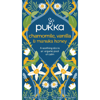 Pukka Chamomile Vanilla/Manuka Tea Pk20