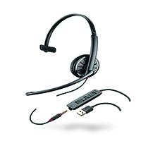 Plantronics C315-Monaural USB and 3.5mm