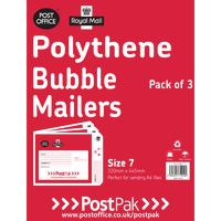 Polythene Size 1 Bubble Mailer Pk13